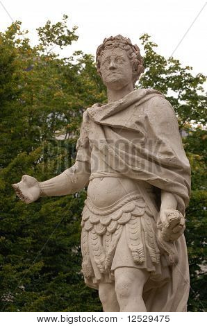 Mutilated Statue