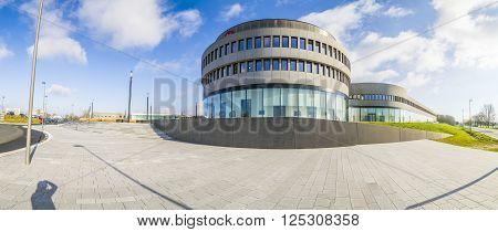 New Headquarters Of Famous Camera Manufactur Leitz In Wetzlar