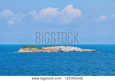 Image of Small Island in the Black Sea