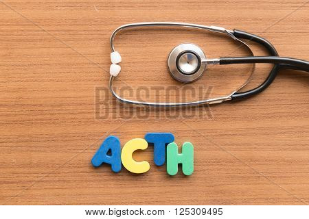 Acth Medical Word