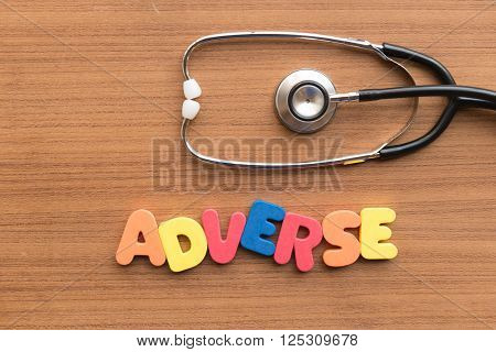 Adverse Medical Word
