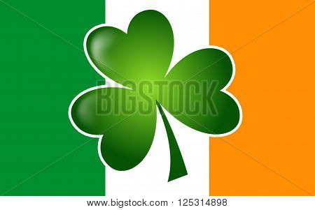 Flag of Ireland also known as the Republic of Ireland is a sovereign state in north-western Europe occupying about five-sixths of the island of Ireland.