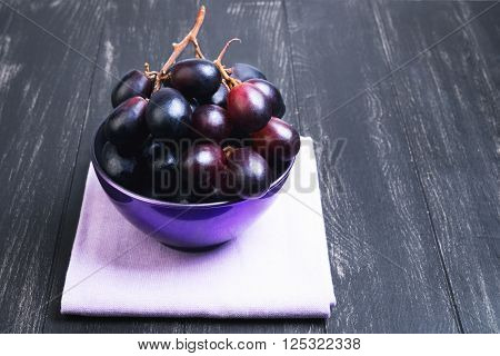 Bunches Of Grapes Crimson