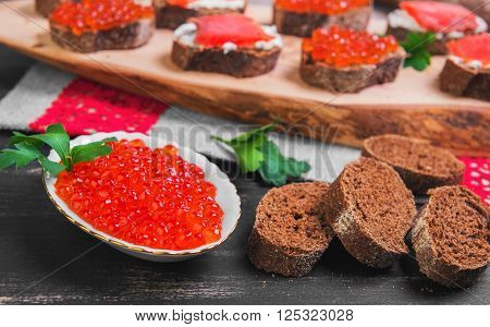 Salmon Red Caviar