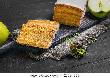 Apple Biscuit Pie