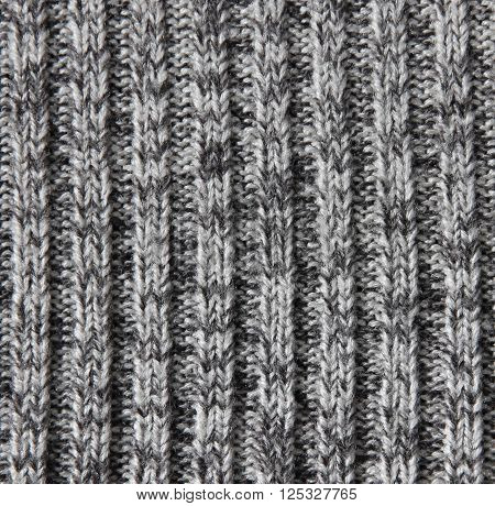 Knitted Wool Texture Can Use As Background