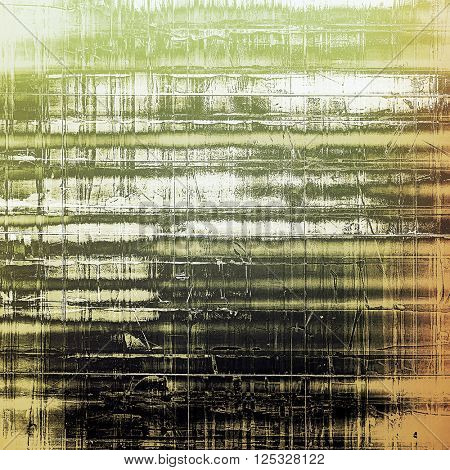 Art grungy texture, aged background with retro feeling. With different color patterns: yellow (beige); brown; green; black; gray; white