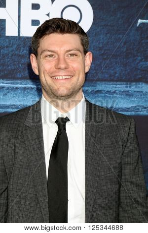 LOS ANGELES - APR 10:  Patrick Fugit at the Game of Thrones Season 6 Premiere Screening at the TCL Chinese Theater IMAX on April 10, 2016 in Los Angeles, CA