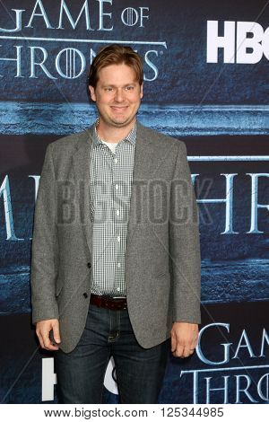 LOS ANGELES - APR 10:  Tim Heidecker at the Game of Thrones Season 6 Premiere Screening at the TCL Chinese Theater IMAX on April 10, 2016 in Los Angeles, CA
