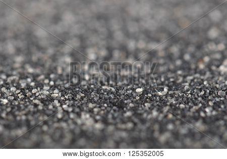 Asphalt Felt Texture, Selective Focus
