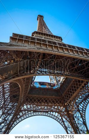 Eiffel Tower Detail, Paris
