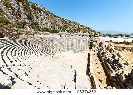 Archeology Theater  In   Old Roman