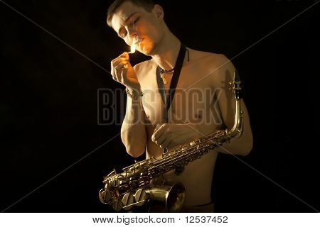 The Young Jazzman  Get A Light For Smoking