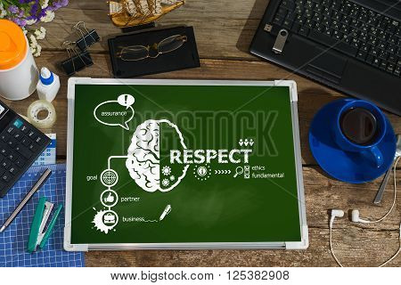 Respect Concept For Business, Consulting, Finance