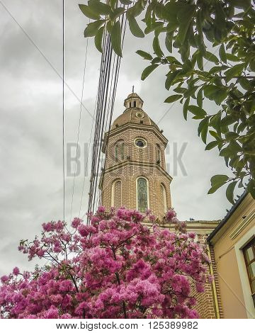 San Luis Church Otavalo Ecuador