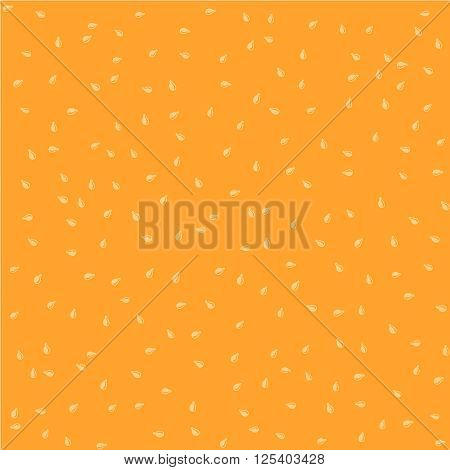 Sesame Seeds Color Seamless Background Random Pattern Texture