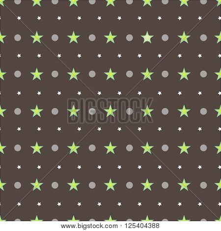 The vector illustration brown pattern for background