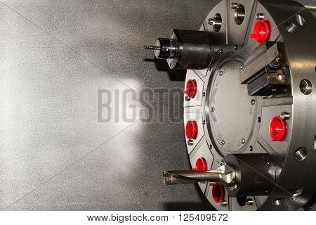Machine Equipment / Tools On Cnc Machine