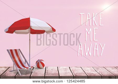 Motivation slogan against pink background