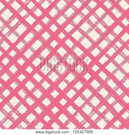 Brush strokes diagonal cell square background. Brush strokes diagonal  cell square color background. Vector brush strokes.