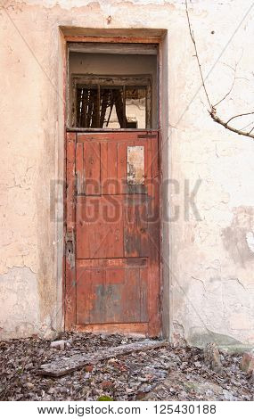 Door For Destroyed Building