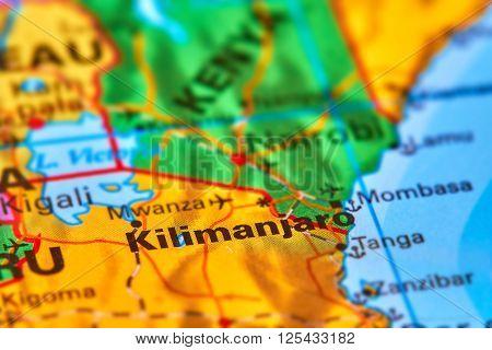 Kilimanjaro On The Map
