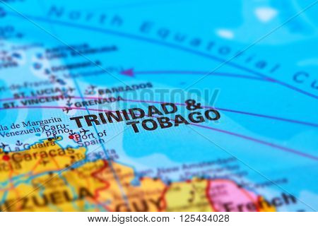 Trinidad Tobago On The Map