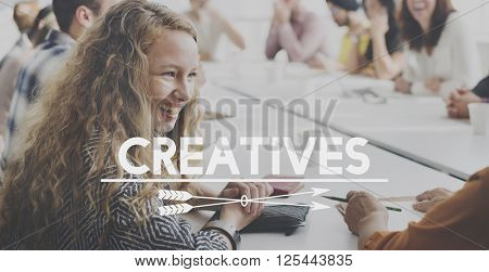 Creatives Artistic People Talent Concept