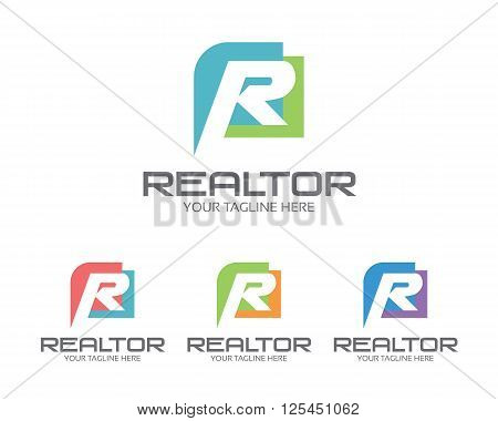 Business Corporate Letter R Logo Design Template. Simple And Clean Flat Design Of Letter R Logo Vect