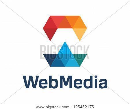 Business Corporate Letter W Logo Design Vector. Colorful Letter W Logo Vector Template. Letter W Log