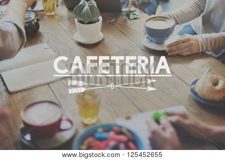 Cafe Cafeteria Catering Cuisine Food Concept