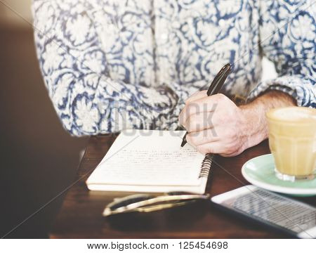 Author Casual Columnist Inspire Journalism Story Concept