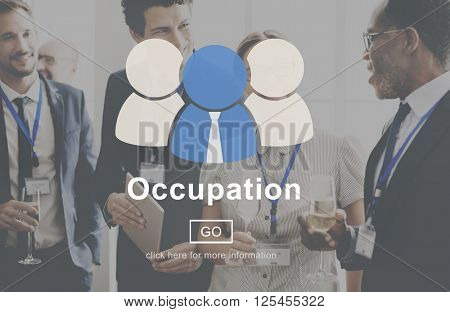 Occupation Career Employee Manpower Work Concept