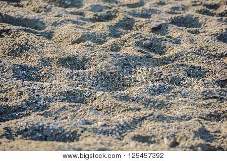 Sandy surface background