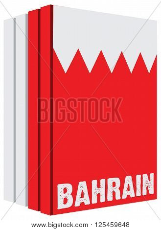Multi-volume collection of books about the country Bahrain.