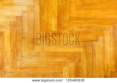 Light Varnished Oak Wood Parquet