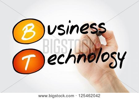 Hand Writing Bt - Business Technology