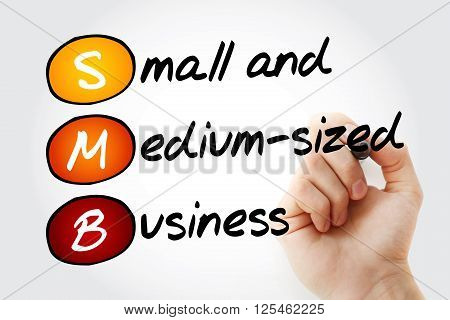 Small And Medium-sized Business With Marker
