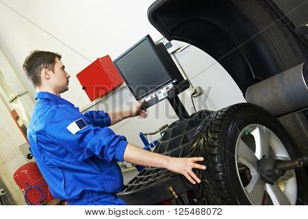 car wheel alignment and balancing