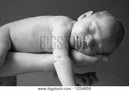 Sleeping Baby Close-Up