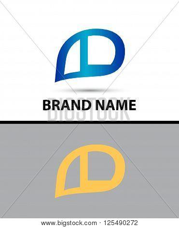 L Letter Logo Design. Vector logo with letter e creative concept