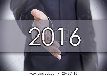 2016 - Business Concept With Text