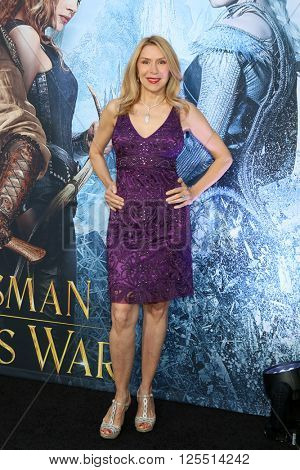 LOS ANGELES - APR 11:  Jacqueline Murphy at the The Huntsman Winter's War American Premiere at the Village Theater on April 11, 2016 in Westwood, CA
