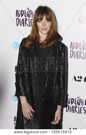 LOS ANGELES - APR 12:  Nicole LaLiberte at the The Adderall Diaires Premiere Screening of A24/DIRECTV Series at the ArcLight Hollywood on April 12, 2016 in Los Angeles, CA