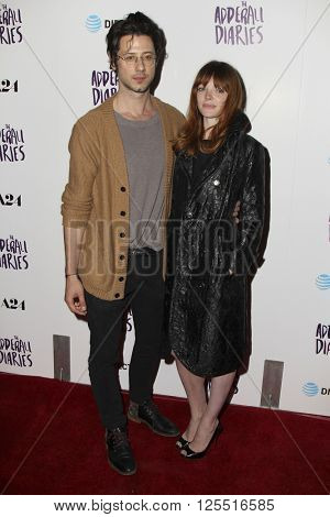 LOS ANGELES - APR 12:  Hale Appleman, Nicole LaLiberte at the The Adderall Diaires Premiere Screening of A24/DIRECTV Series at the ArcLight Hollywood on April 12, 2016 in Los Angeles, CA
