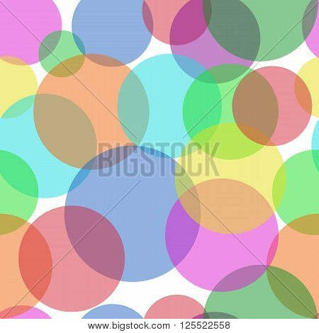 Sweet Bubbles. Seamless Texture for background image on websites e-mails etc.
