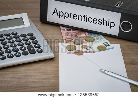 Apprenticeship Written On A Binder