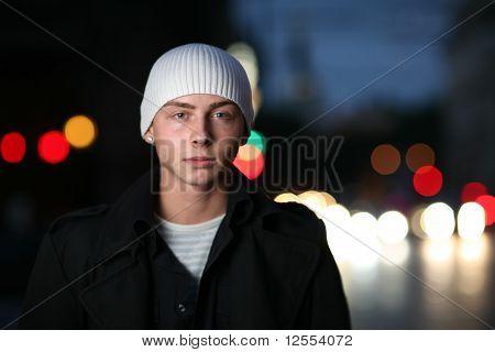 Urbano Retrato de un hombre joven