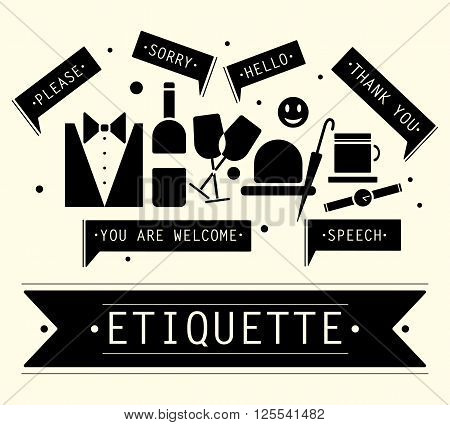 The elements of speech etiquette. Phrases in etiquette.