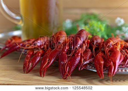 Boiled Crayfish With Beer